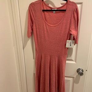 2/$10 LuLaRoe Nicole dress L